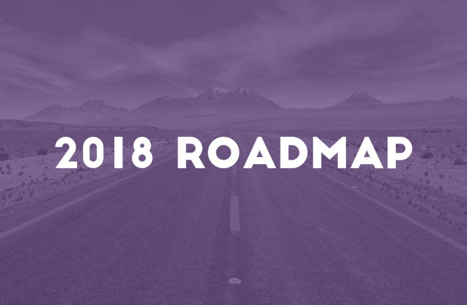 2018 roadmap is live